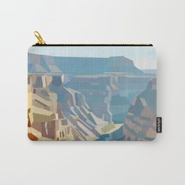 Geometric Grand Canyon National Park, USA Carry-All Pouch