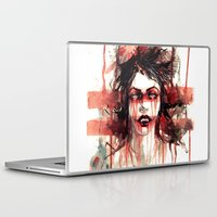 vampire Laptop & iPad Skins featuring VAMPIRE by AkiMao