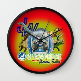Jurassic Gyrosphere with Jimmy Wall Clock