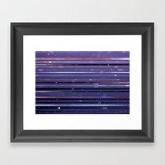 rain got style pts Framed Art Print