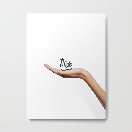 Tiny friend Metal Print