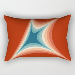 Retro style illustration Rectangular Pillow