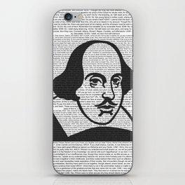 Words of Shakespeare iPhone Skin
