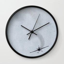 Looping Plane Wall Clock