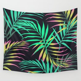 Summer Bliss Leaves  Wall Tapestry
