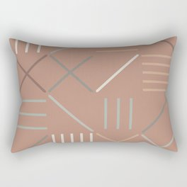 Geometric Shapes 07 Rectangular Pillow