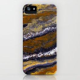 Orange 3 iPhone Case