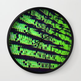 Binary Code Wall Clock