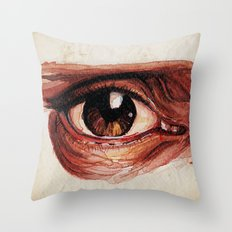 Suffered look Throw Pillow