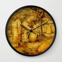 The Keeping of Bees Wall Clock