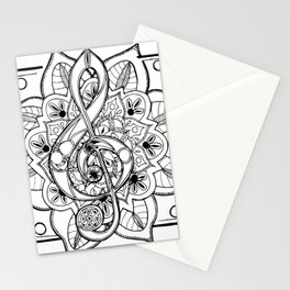 Music Of Life Stationery Cards