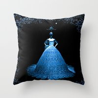 china Throw Pillows featuring China by Saundra Myles