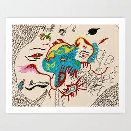 #5 dream Art Print