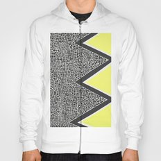 Abstract Mountain Range Hoody