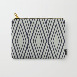 Modern Neutral Pattern Carry-All Pouch