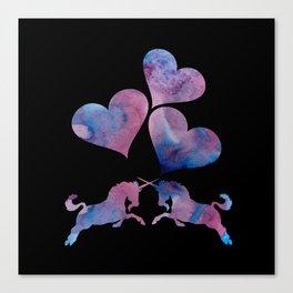 Unicorn art Canvas Print