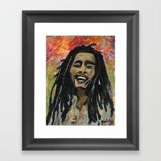 Rasta  Man Framed Art Print