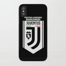 Slogan Juventus iPhone Case