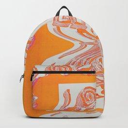 Lost Loop (Orange Glitch ver.) Backpack