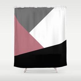 Elegant geometric design Shower Curtain