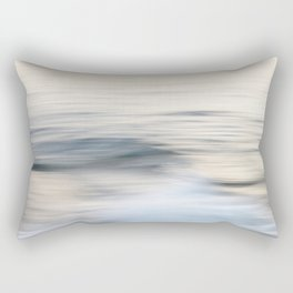 Silent waves Rectangular Pillow