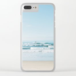 California Surfing Clear iPhone Case