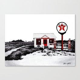 Texaco St. Lawrence Power & Equipment Museum Canvas Print