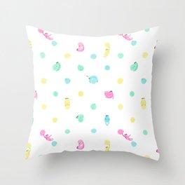 Sloth Dot Throw Pillow