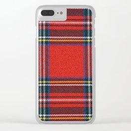 Love Tartán (5) - Stewart Royal Clear iPhone Case