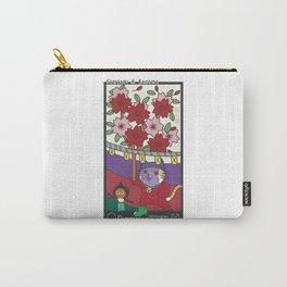 HANAFUDA(CURTAIN&SAKURA) Carry-All Pouch