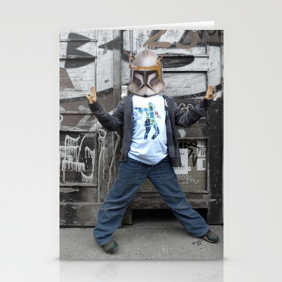 StarWars Kid 2 Collage Stationery Cards