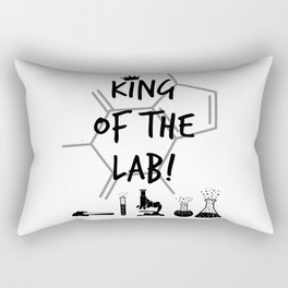 King of The Lab Rectangular Pillow