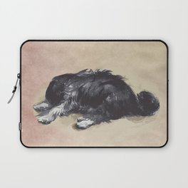 Patience is a dog. Laptop Sleeve