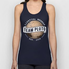 Team Pluto - Astronomy And Space Gift Unisex Tank Top