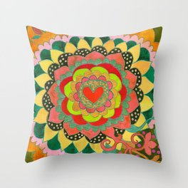 Feral Heart #01 Throw Pillow