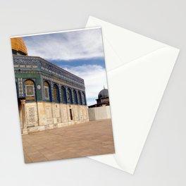 Temple Mount, Old City of Jerusalem, Israel Stationery Cards