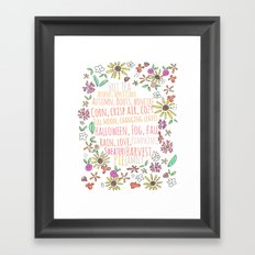 Autmn Framed Art Print