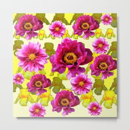 SPRING FLOWERS ART Metal Print
