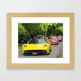 Pagani and friends Framed Art Print