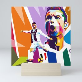 CR7 -Ronaldo Mini Art Print