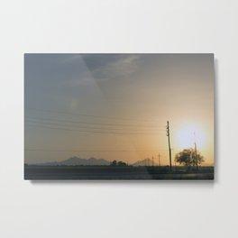 Sunrise IV Metal Print