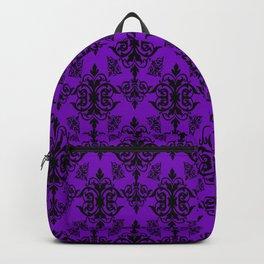 Violet Damask Backpack