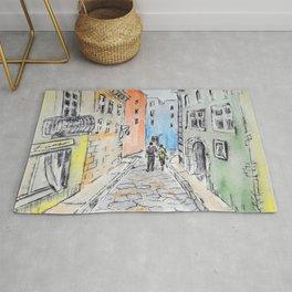 Italian street Rug