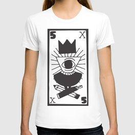 mighty eye card T-shirt