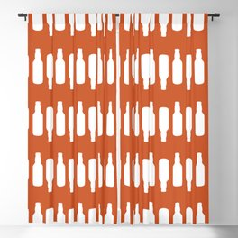 Beer Stripes Pattern Blackout Curtain