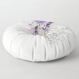 Living Flowers - Muscari Floor Pillow