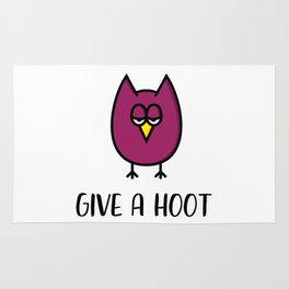 Owl Give a Hoot Rug
