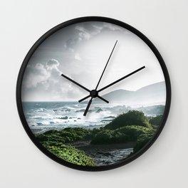 Sandy Beach, Hawaii Wall Clock