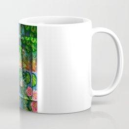 Mermaid in the lily pond Coffee Mug