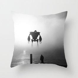 Iron Giant Throw Pillow